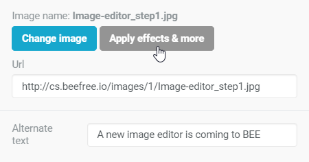 A new image editor is coming to BEE